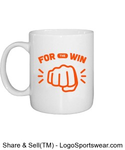 FOR The WIN Mug Design Zoom